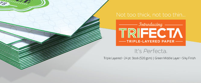 Royal printing detroit michigan printing services the tri county business card trifecta high quality full color offset available on 24pt has in green middle layer with silky finish reheart Choice Image